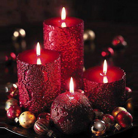 bougies noel