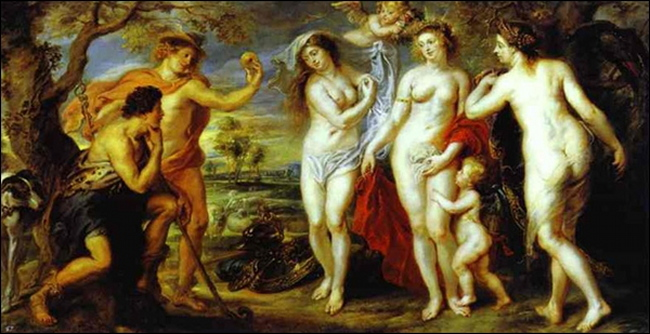 Le Jugement de Paris Peter Paul Rubens