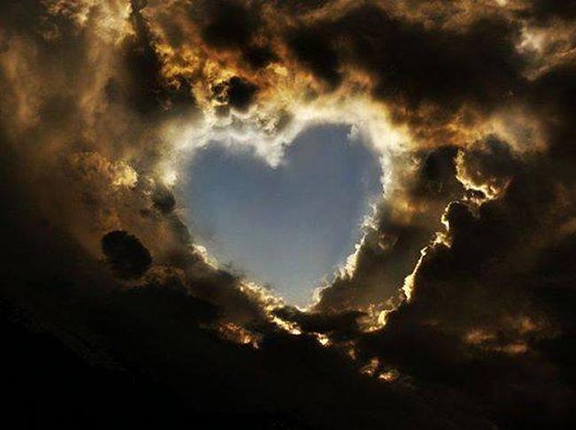 Coeur nuages