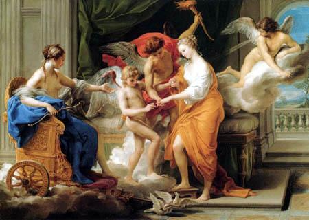 Les noces d'Amour et Psyché Pompeo Batoni (1756)