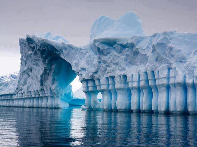 Paravent de glace