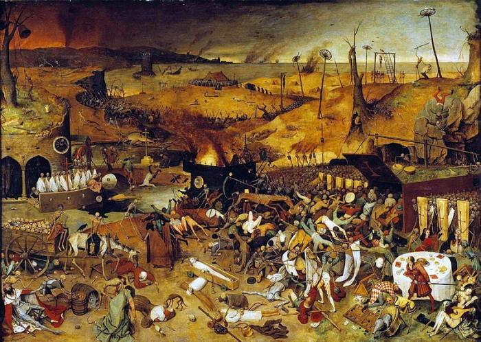 Le Triomphe de la Mort (1562), de Pieter Brueghel