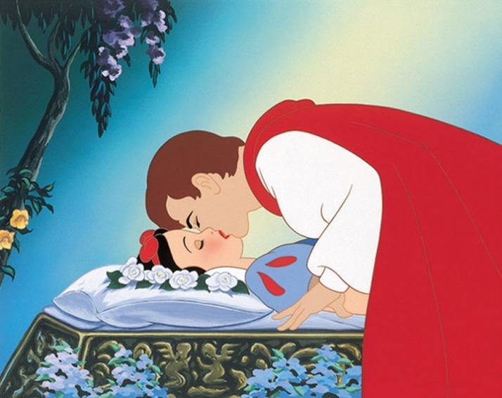 Le baiser du prince-charmant -image-de-walt-disney